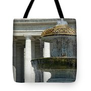 St Peters Square Fountain Tote Bag
