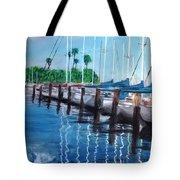 St. Petersburg Marina Tote Bag