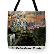 St  Petersburg Russia  Tote Bag