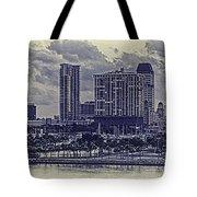 St Petersburg Waterfront Tote Bag