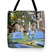 St. Philips Church Cemetery Charleston Sc Tote Bag