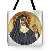St. Rita Of Cascia Patroness Of The Impossible 206 Tote Bag