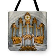 St Roch Organ In Paris Tote Bag