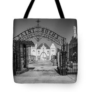 St Roch's Cemetery Bw Tote Bag