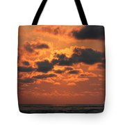 St Simons And Sea Island Sunrise Tote Bag