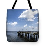 St. Simon's Island Georgia Dock Tote Bag