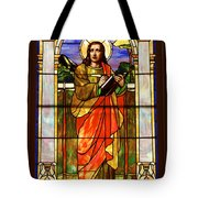 St. Stan's Stained Glass Tote Bag