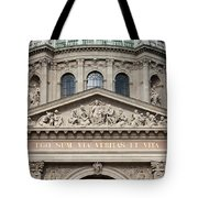 St. Stephen's Basilica Closeup Tote Bag