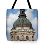 St. Stephen's Basilica Dome In Budapest Tote Bag