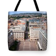St Stephen's Square In Budapest Tote Bag