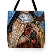 St. Theresa Mosaic Tote Bag