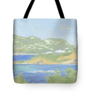 St. Thomas From Water Island Tote Bag