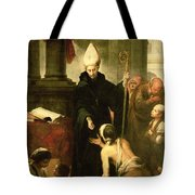 St. Thomas Of Villanueva Distributing Alms, 1678 Oil On Canvas Tote Bag