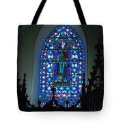 St Thomas Stained Glass Tote Bag