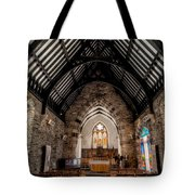 St Tudcluds Church Tote Bag by Adrian Evans