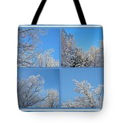 St. Valentine's Day Snowstorm Tote Bag