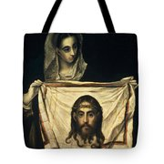 St Veronica With The Holy Shroud Tote Bag