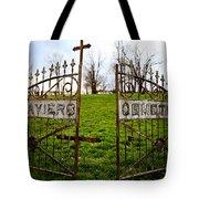 St. Xaviers Cemetery Tote Bag