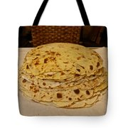 Stack Of Lefse Rounds Tote Bag