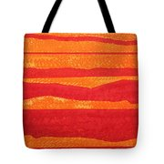 Stacked Landscapes Original Painting Tote Bag