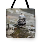 Stacked Stones Tote Bag