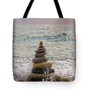 Stacking Stones Tote Bag