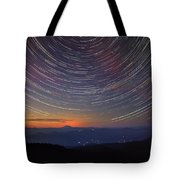 Stacking The Stars At Larch Mountain Tote Bag