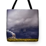 Stacks In The Clouds Tote Bag