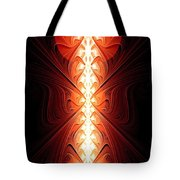 Staff Of Fire Tote Bag