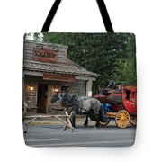 Stage Stop Tote Bag