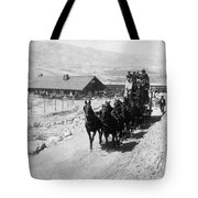 Stagecoach, C Tote Bag