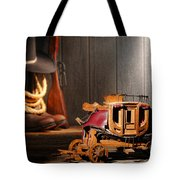 Stagecoach Dream Tote Bag