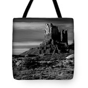 Stagecoach Rock Monument Valley Tote Bag