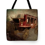 Stagecoach West Sepia Textured Tote Bag