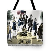 Stages Of A Mans Life  1848 Tote Bag