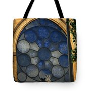 Stain Glass Church Window Tote Bag