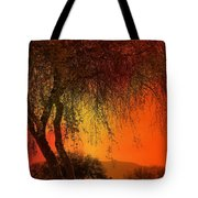 Stained By The Sunset Tote Bag