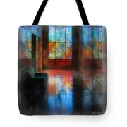 Stained Glass 01 Photo Art Tote Bag
