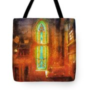Stained Glass 05 Photo Art Tote Bag