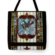 Stained Glass 3 Panel Vertical Composite 03 Tote Bag