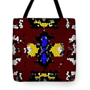 Stained Glass Art Abstract Tote Bag