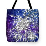 Stained Glass Beautiful Fireworks 1 Tote Bag