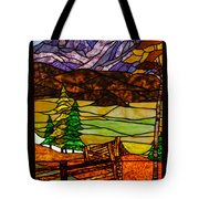 Stained-glass-beauty Tote Bag
