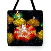 Stained Glass Candle 1 Tote Bag