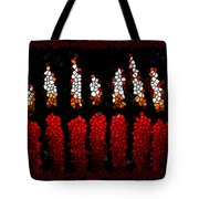 Stained Glass Candle Tote Bag