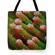Stained Glass Coral Reef 1 Tote Bag by Lanjee Chee