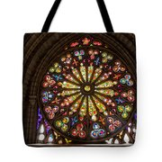 Stained Glass Details Tote Bag