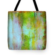 Stained Glass Houses Tote Bag