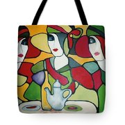 Stained Glass II Tote Bag