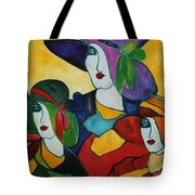 Stained Glass IIi Tote Bag